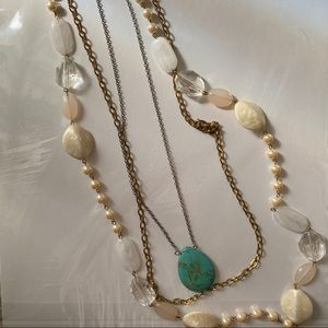 Necklace set FREE IF BUNDLED WITH A CLOTHING ITEM